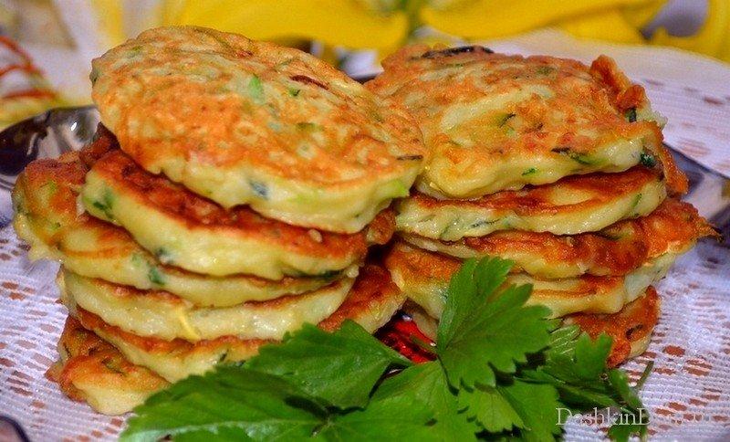 Оладьи из кабачков рецепты пошагово в духовке