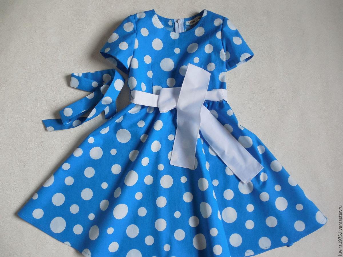 Платье для девочки сшить своими руками: летнее, без выкройки 99