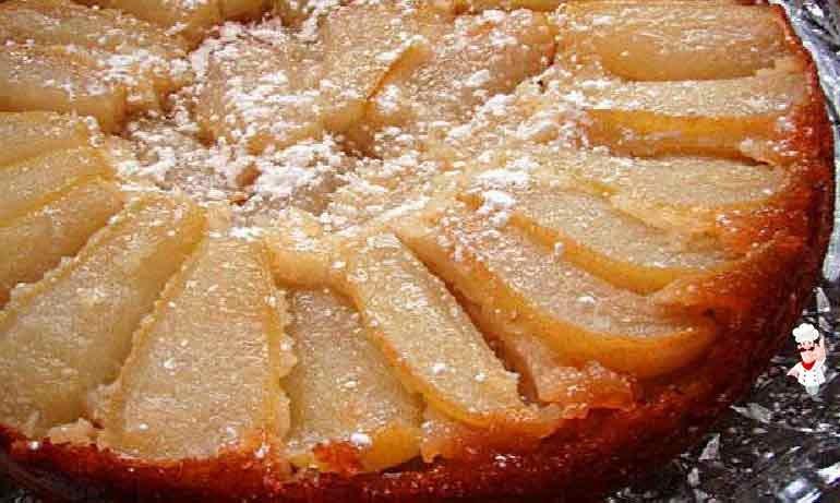 Шарлотка на кефире с грушами рецепт с фото пошагово в духовке