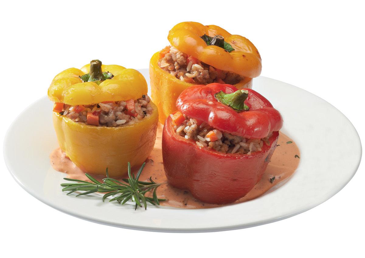 Перец фаршированный фаршем и овощами рецепт в домашних условиях