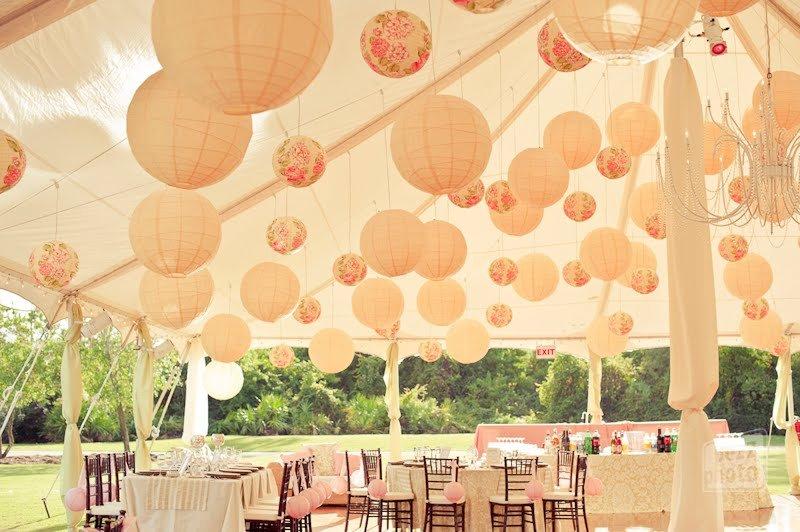 Как украсить шатер для свадьбы