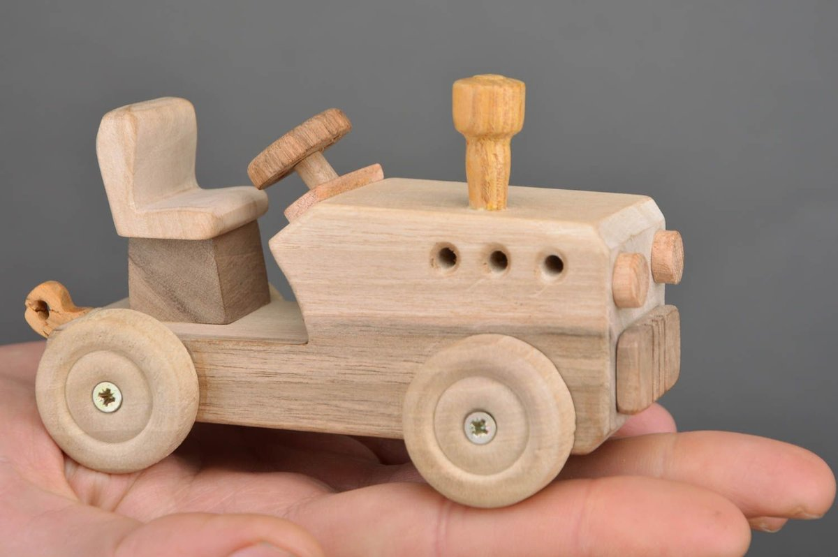 Деревянные игрушки машинки своими руками 63