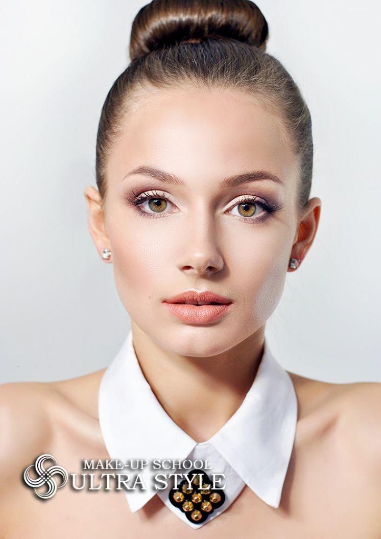 Дневной макияж с картинками