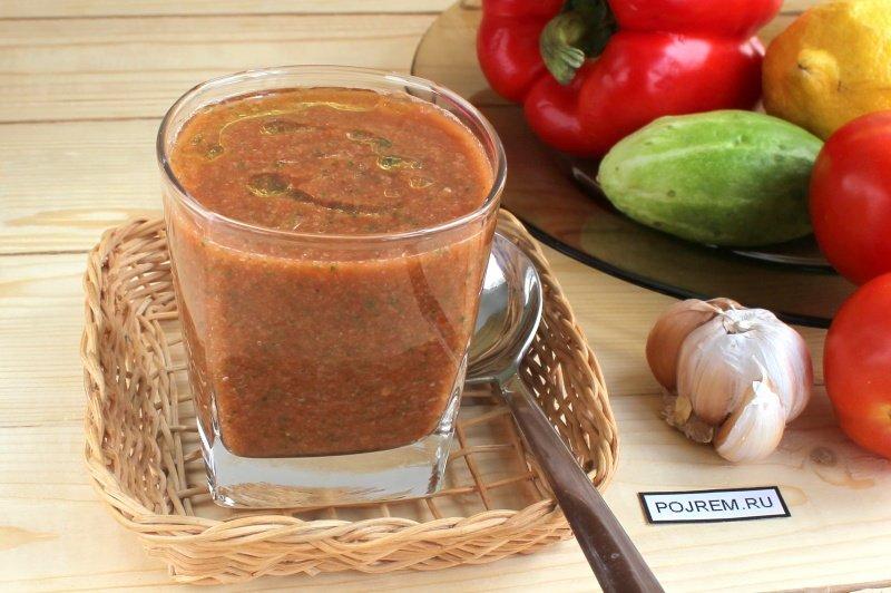 Приготовить томатный суп в домашних условиях 548