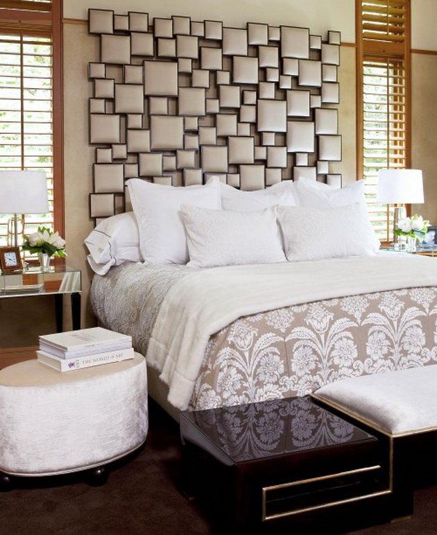Декор стены над кроватью своими руками