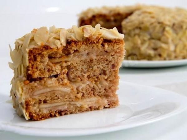 Постный торт рецепт в домашних