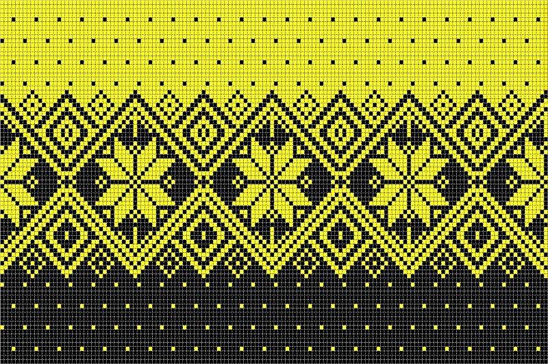Скандинавские узоры для вязания