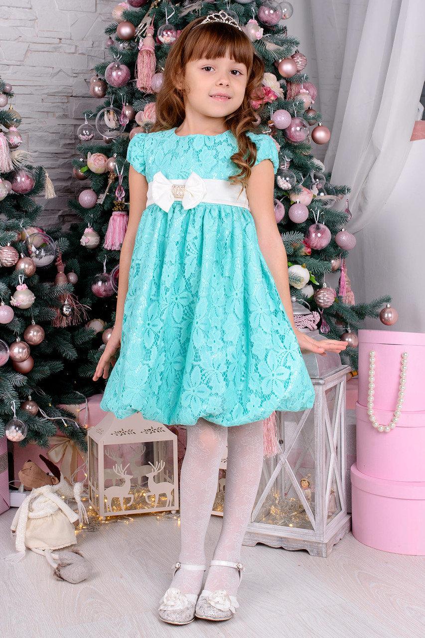 Платья гипюровые детские