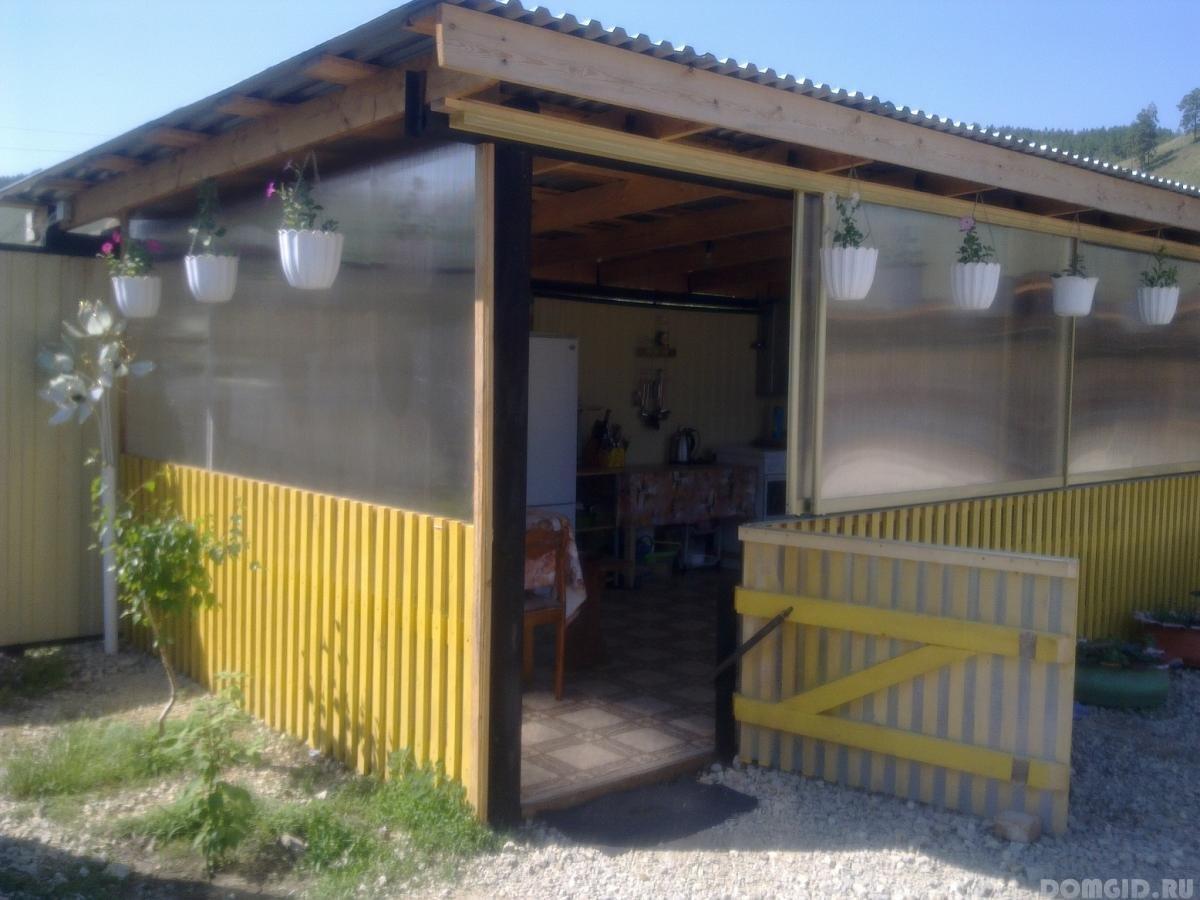 Летняя кухня своими руками очень простая конструкция 76