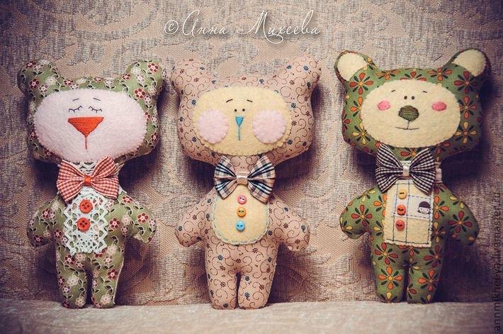 Необычные игрушки из текстиля своими руками 78