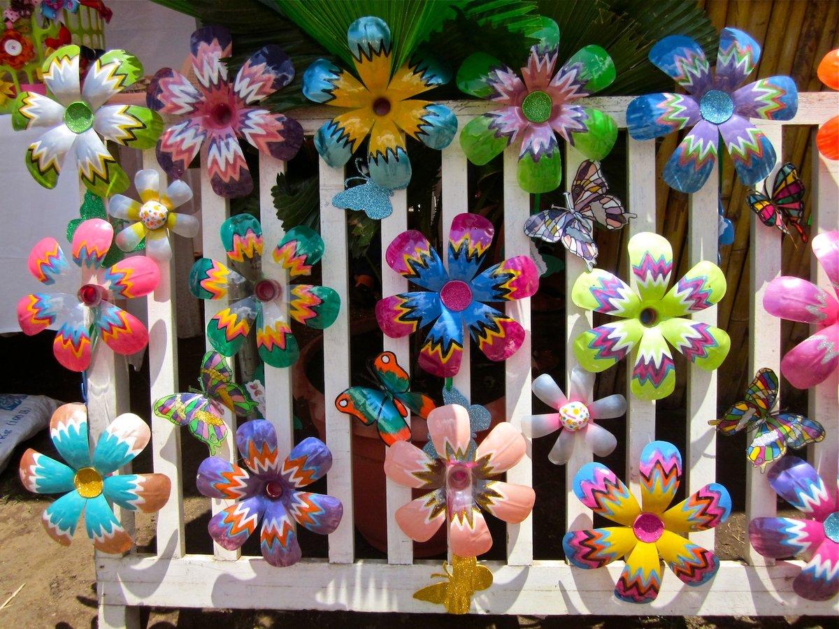 Украшаем цветами своими руками
