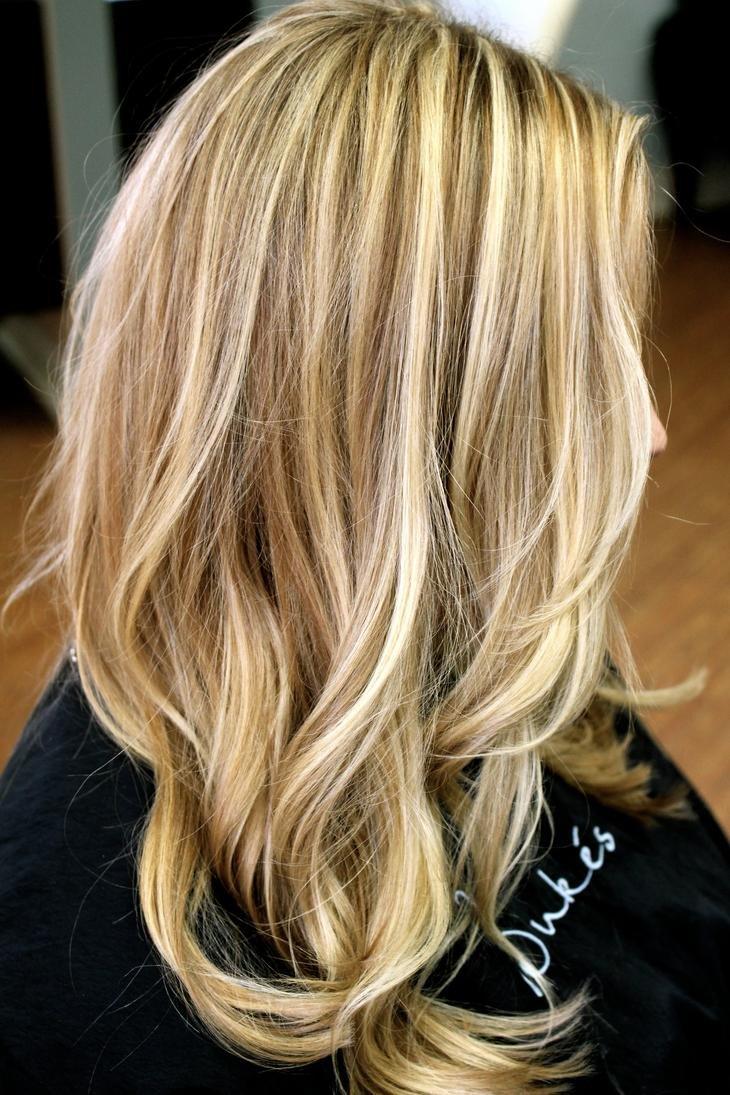 Как из темных волос сделать блонд