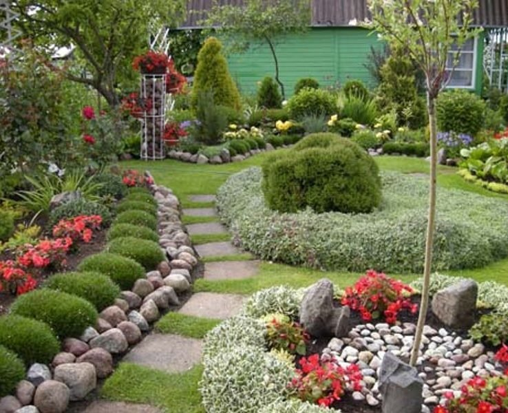 Ландшафтный дизайн садового сада
