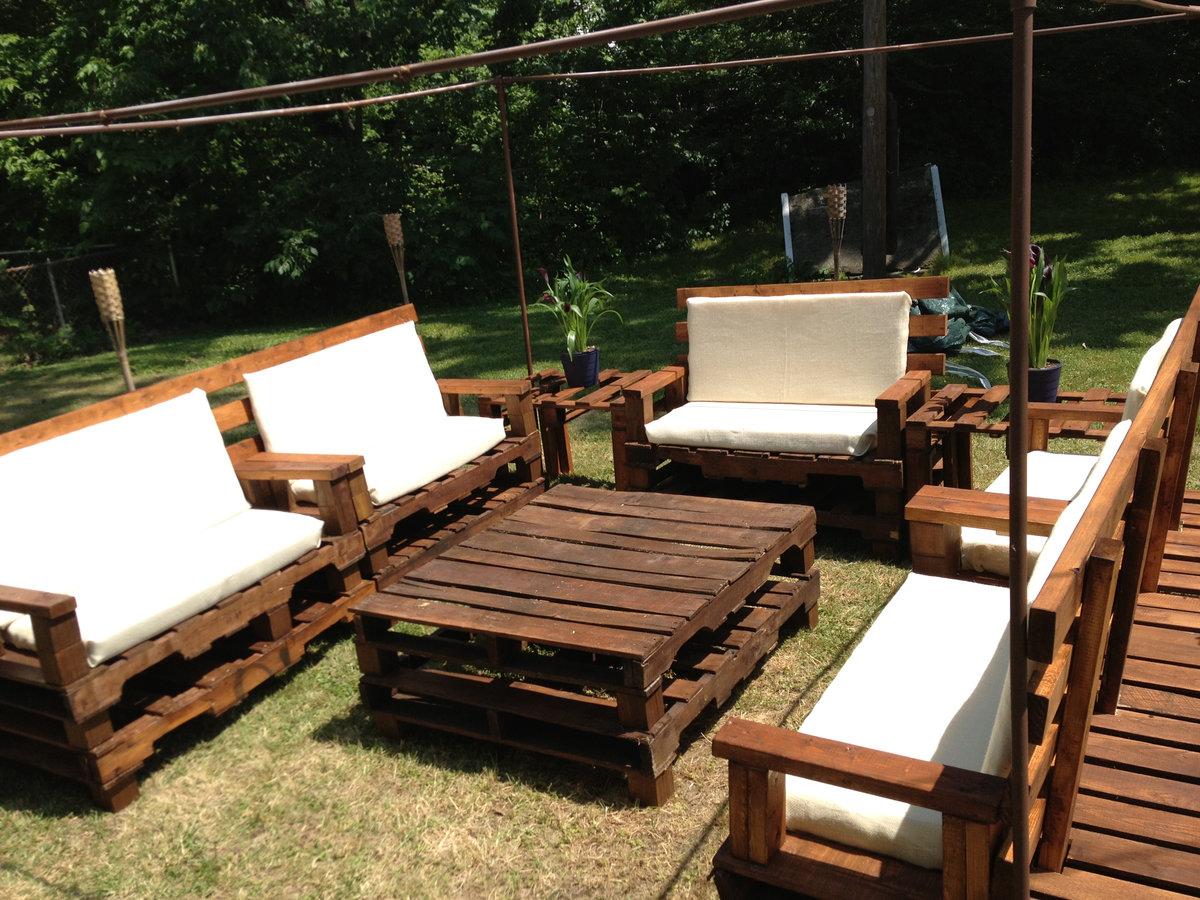 Садовая мебель своим и руками 715