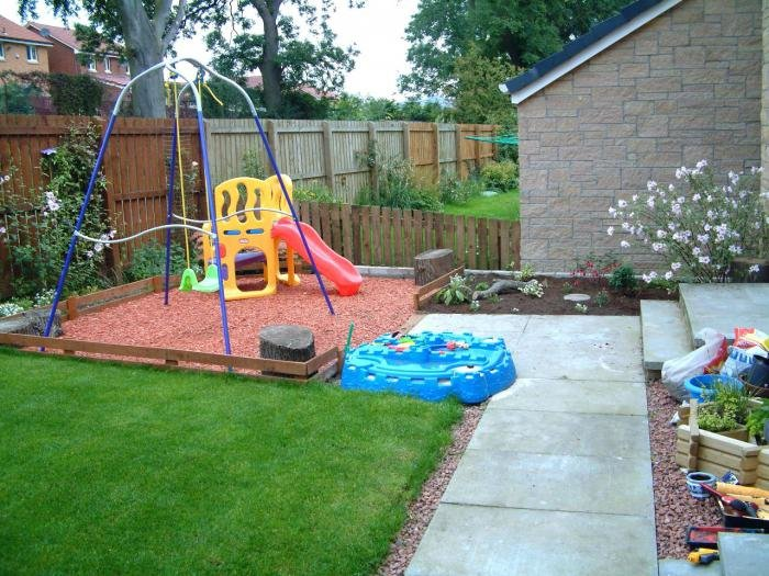 Как можно сделать красивым двор 198