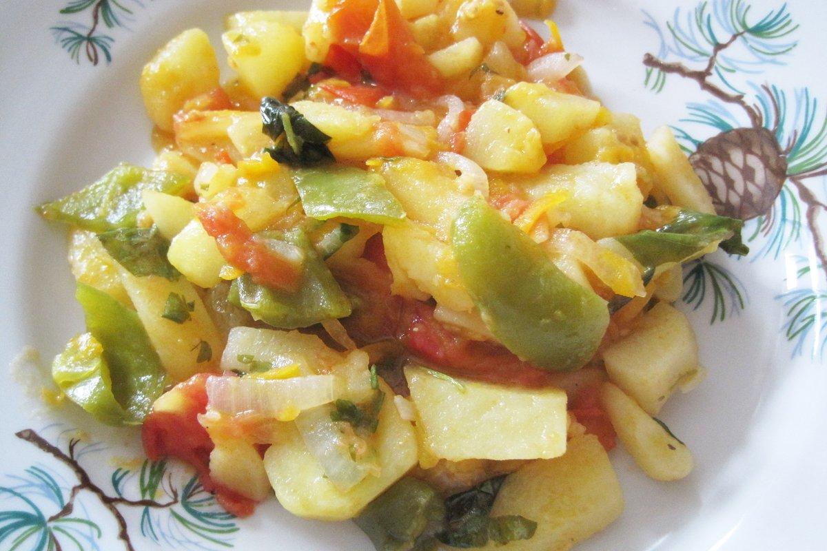Как делать овощное рагу с кабачками фото