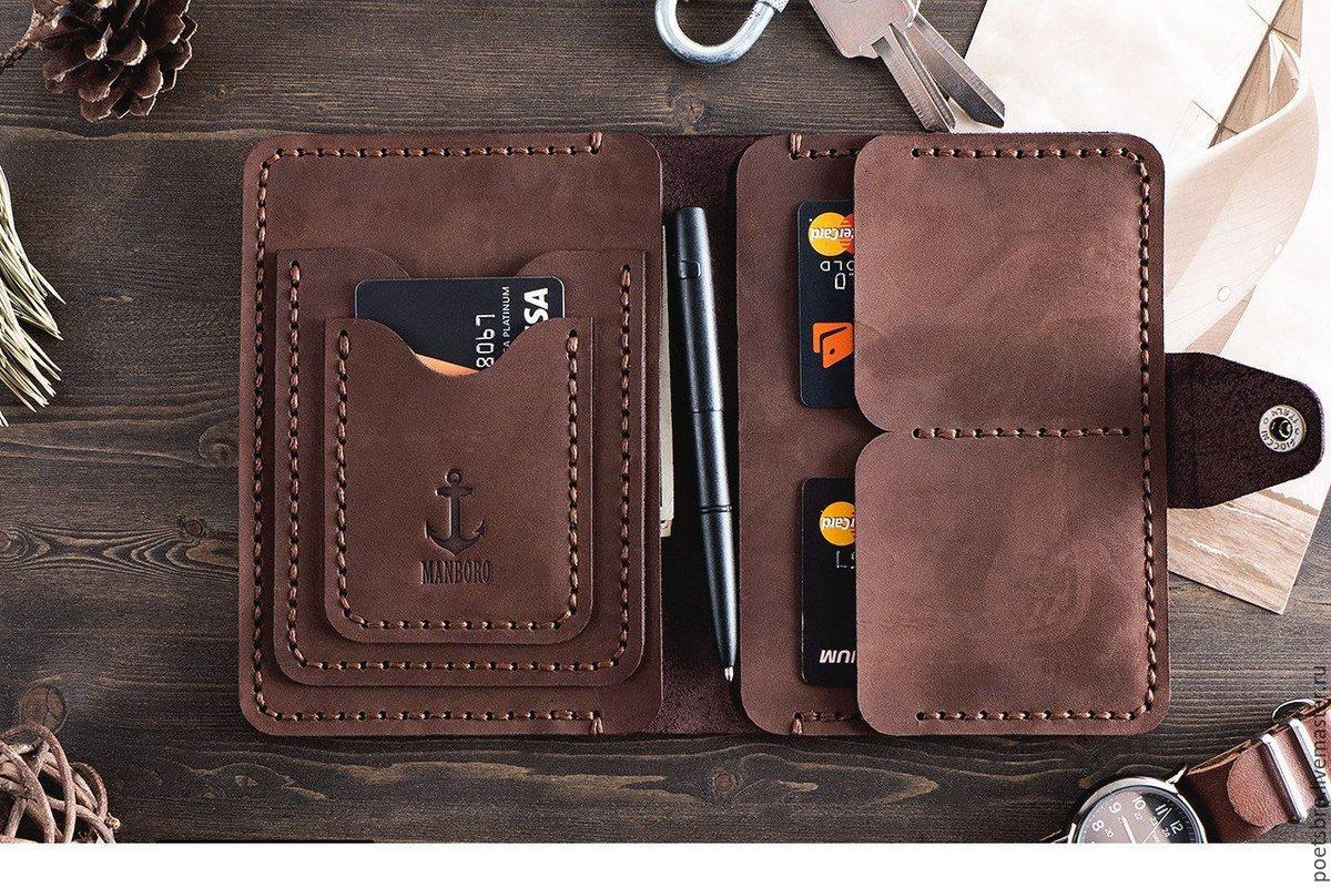 Кожаные портмоне своими руками фото 100