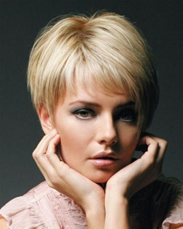 Pixie haircut for women over 60