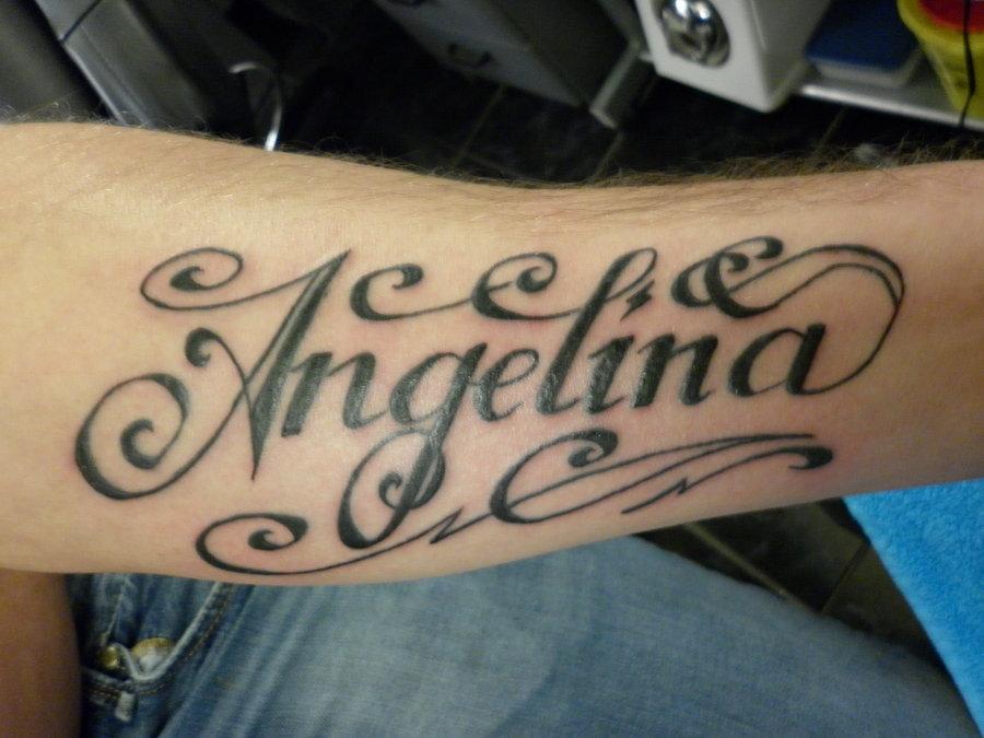 Татуировки на английском по именам