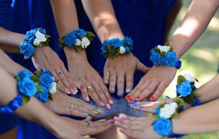 Свадебные браслеты для подружек своими руками
