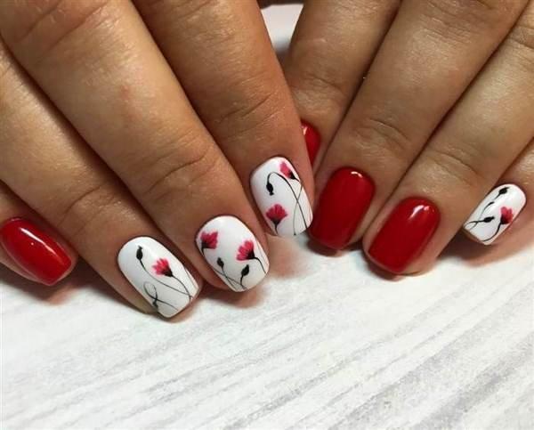 Фото маникюра ногтей 2018 на короткие ногти