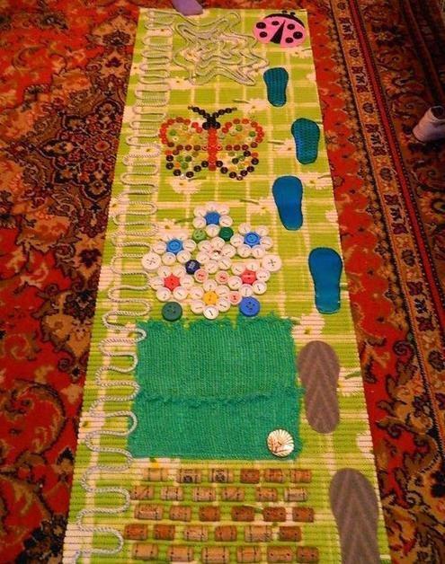 Фото массажного коврика своими руками