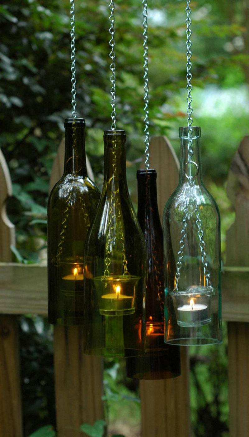 113 идей для поделок из стеклянных бутылок своими руками на фото 100