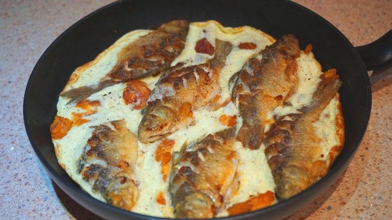 Рецепт салата с жареным картофелем рецепт