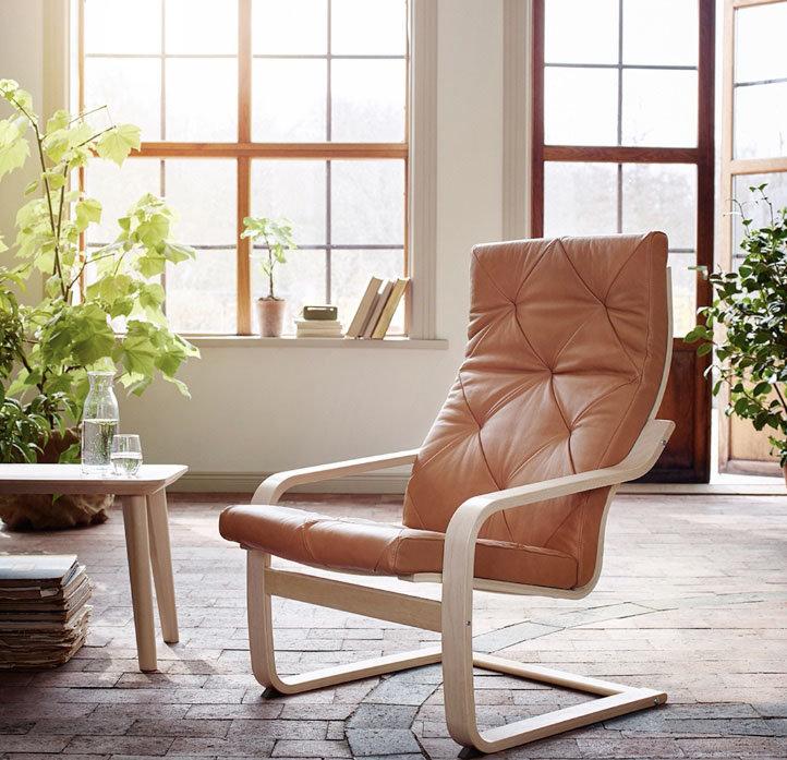 Кресло поэнг в интерьере фото