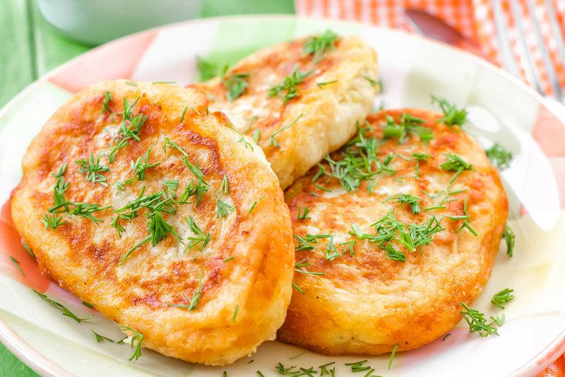 Зразыы с картофелем