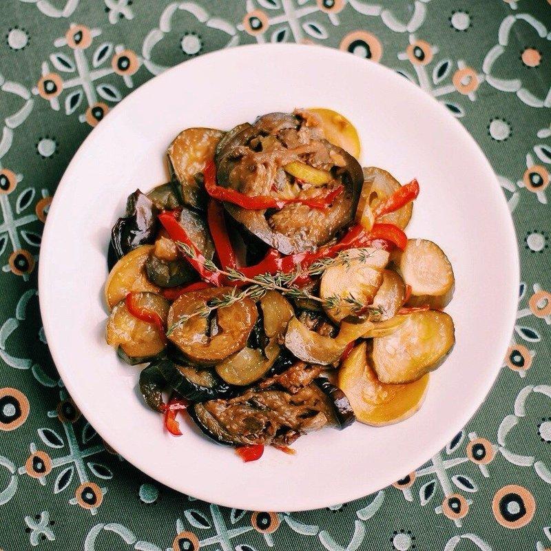 Соте из овощей с пошагово