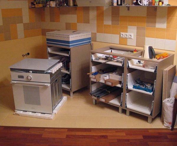 Все для сборки кухни своими руками 65