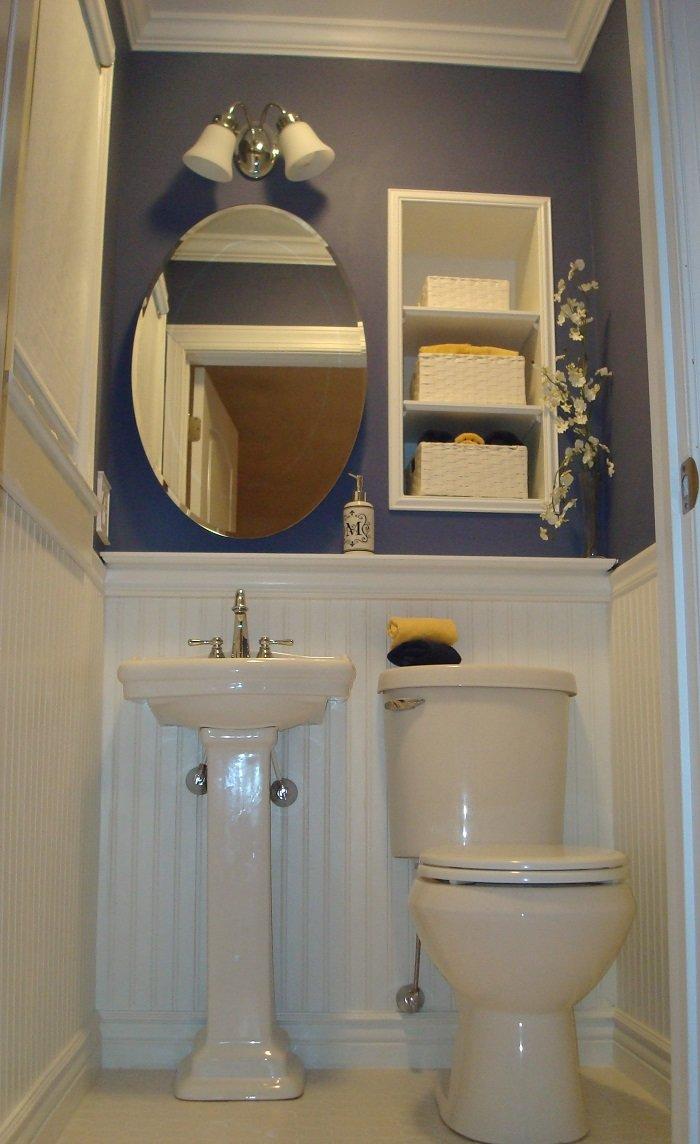 Маленький туалет с раковиной дизайн