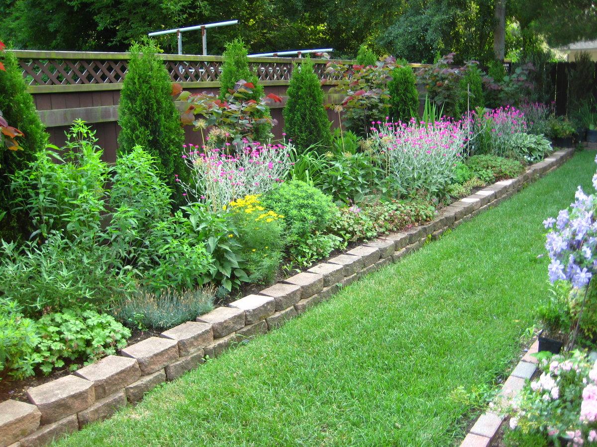 Дизайн садовый участок своими руками фото 29