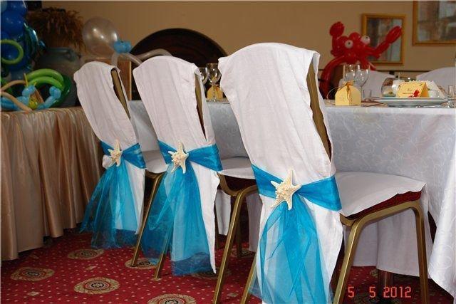 Оформление стульев для свадьбы своими руками