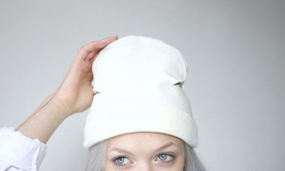 Как сшить шапку бини 491