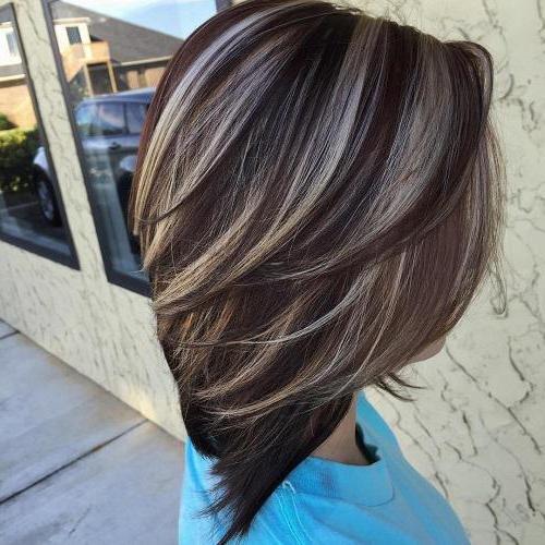 Как сделать мелирование на коричневых волосах 919