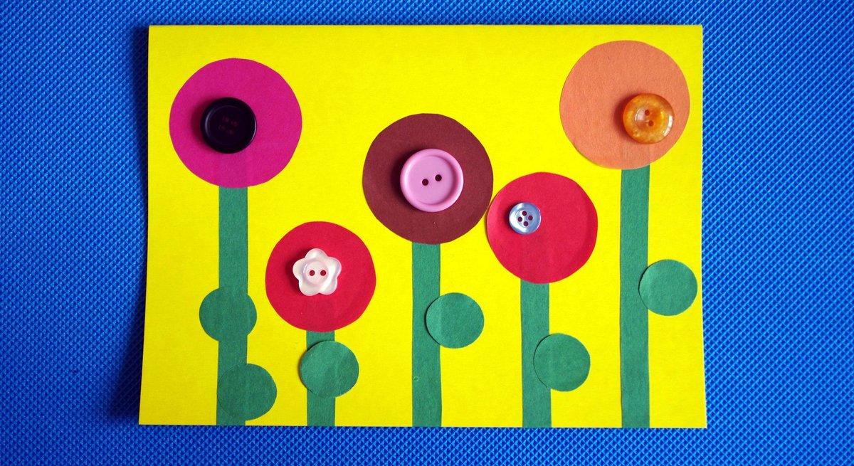 Поделки для дошкольников из пуговиц 26