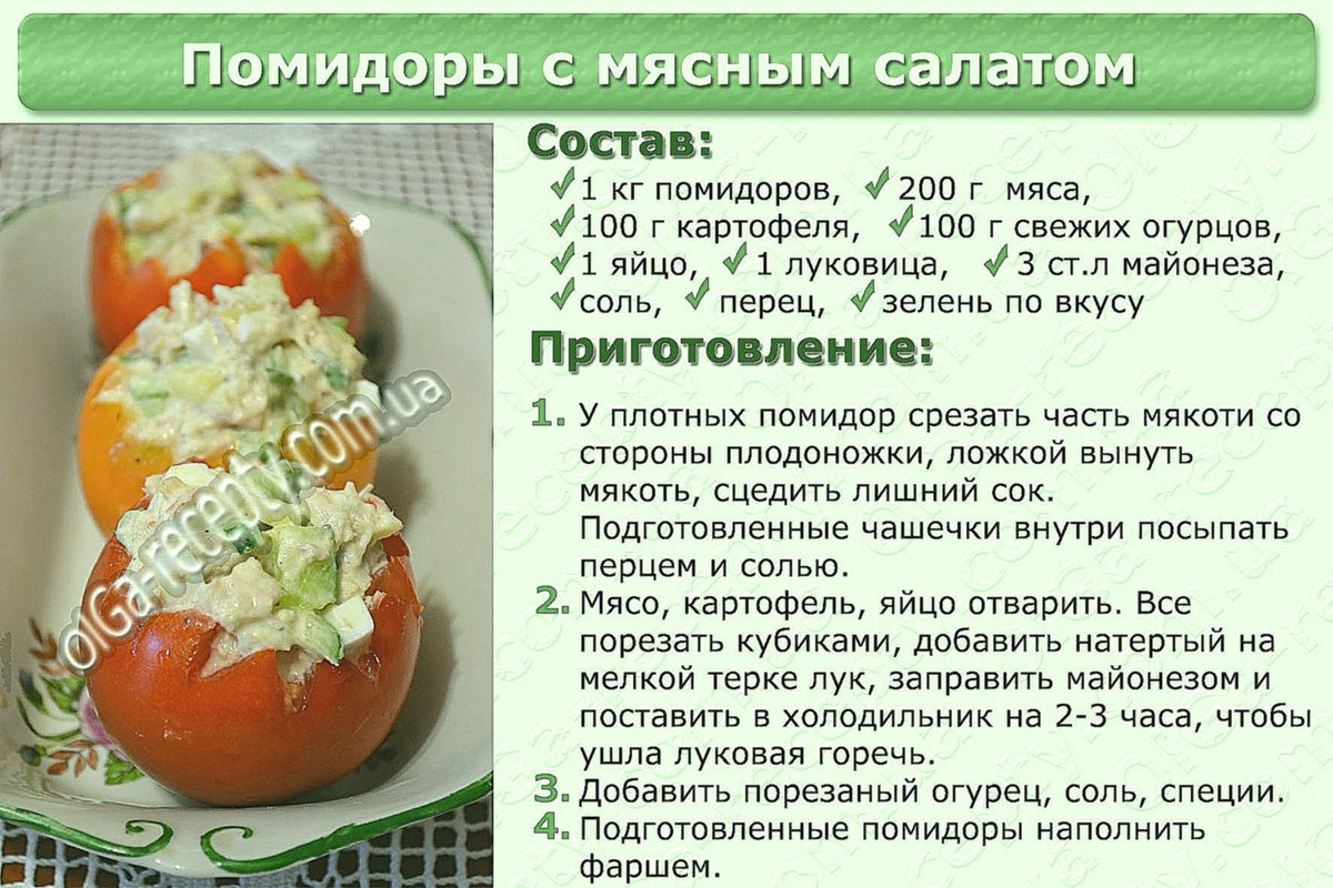 Легкие рецепты салатов на каждый день пошагово