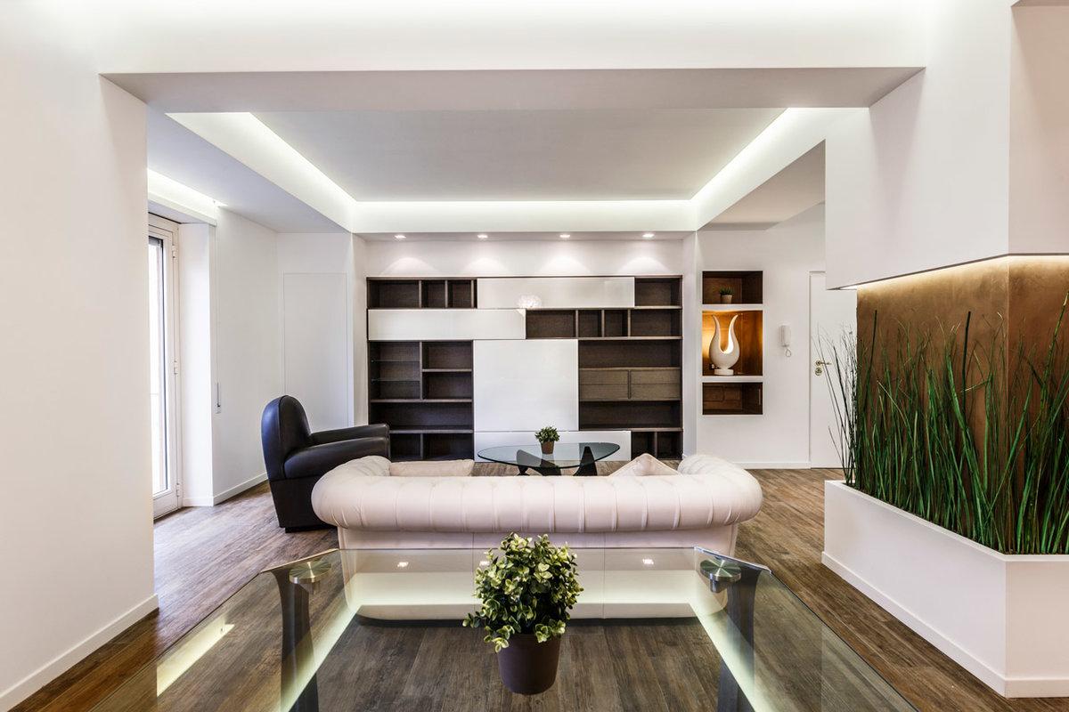 Современный интерьер дизайн и отделка квартир