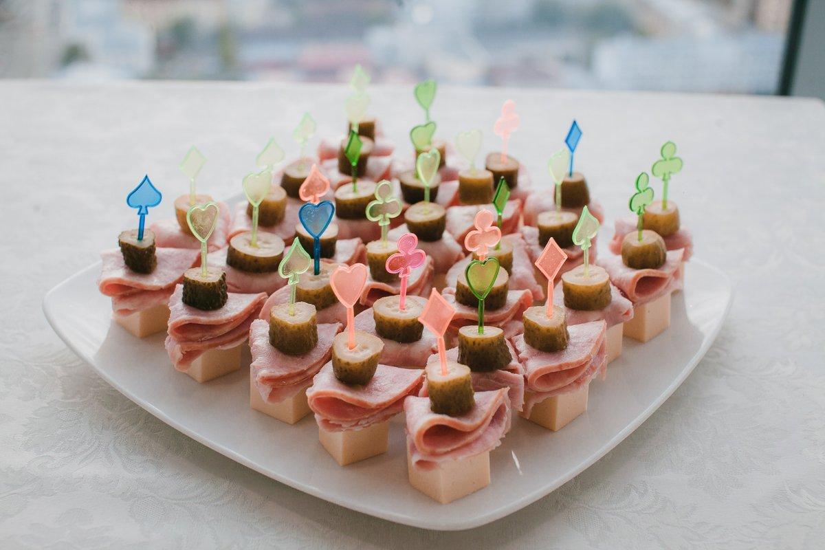 Канапе с сыром фото рецепт пошаговый