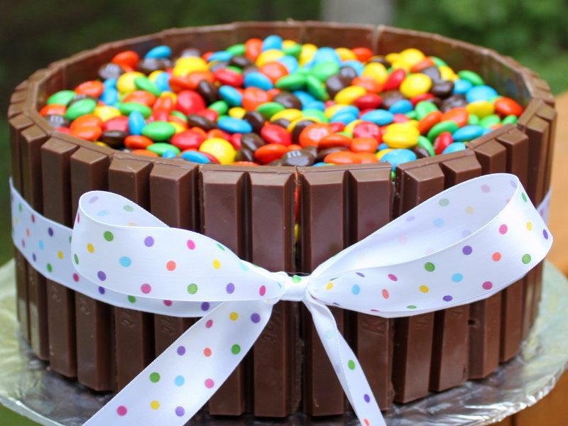 Торт своими руками на детское день рождения 160