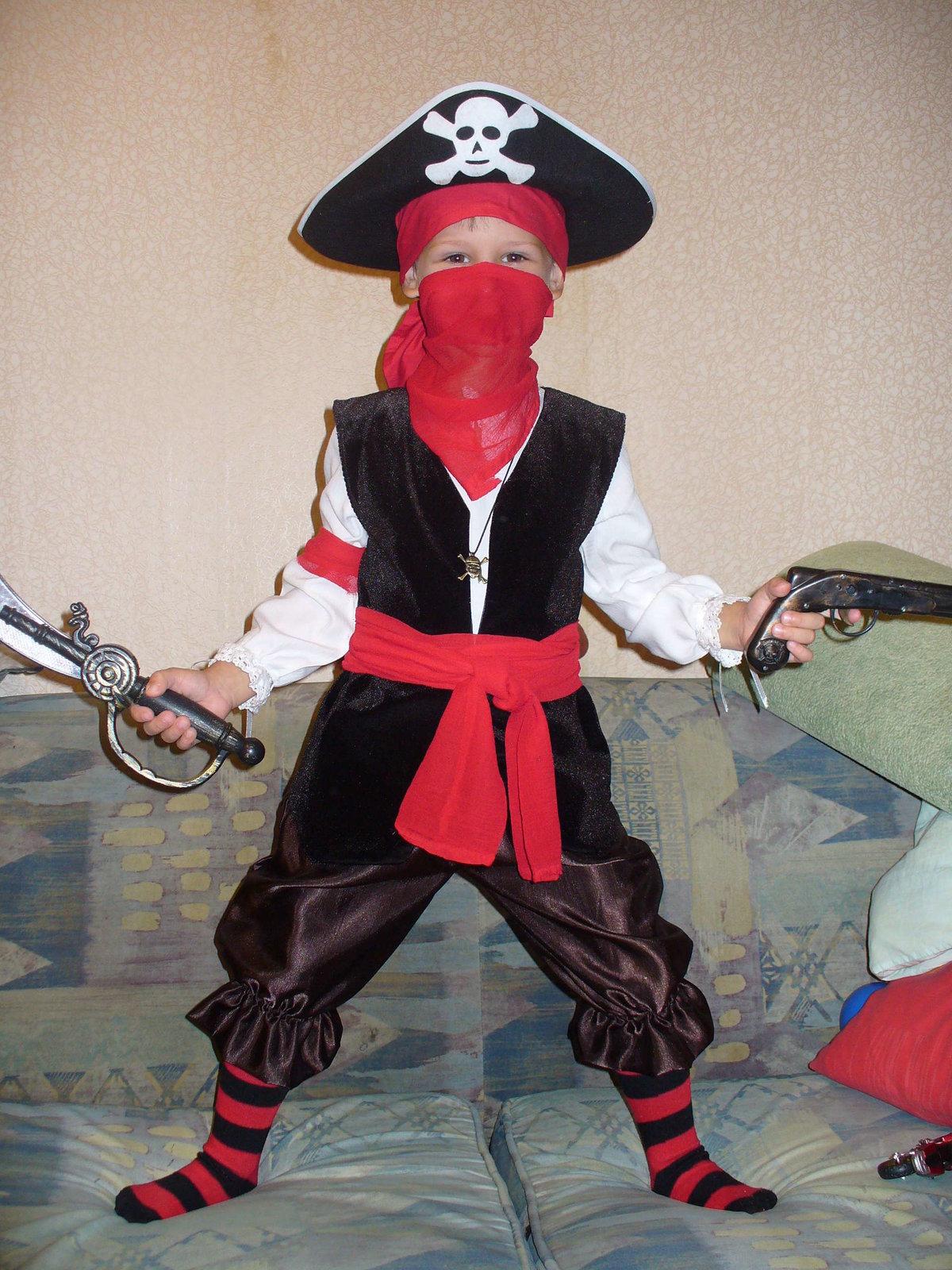 Как создать костюм пирата 2