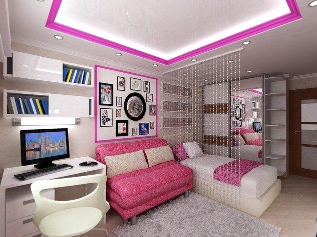 Дизайн комнаты для подростка - 200 фото идей оформления