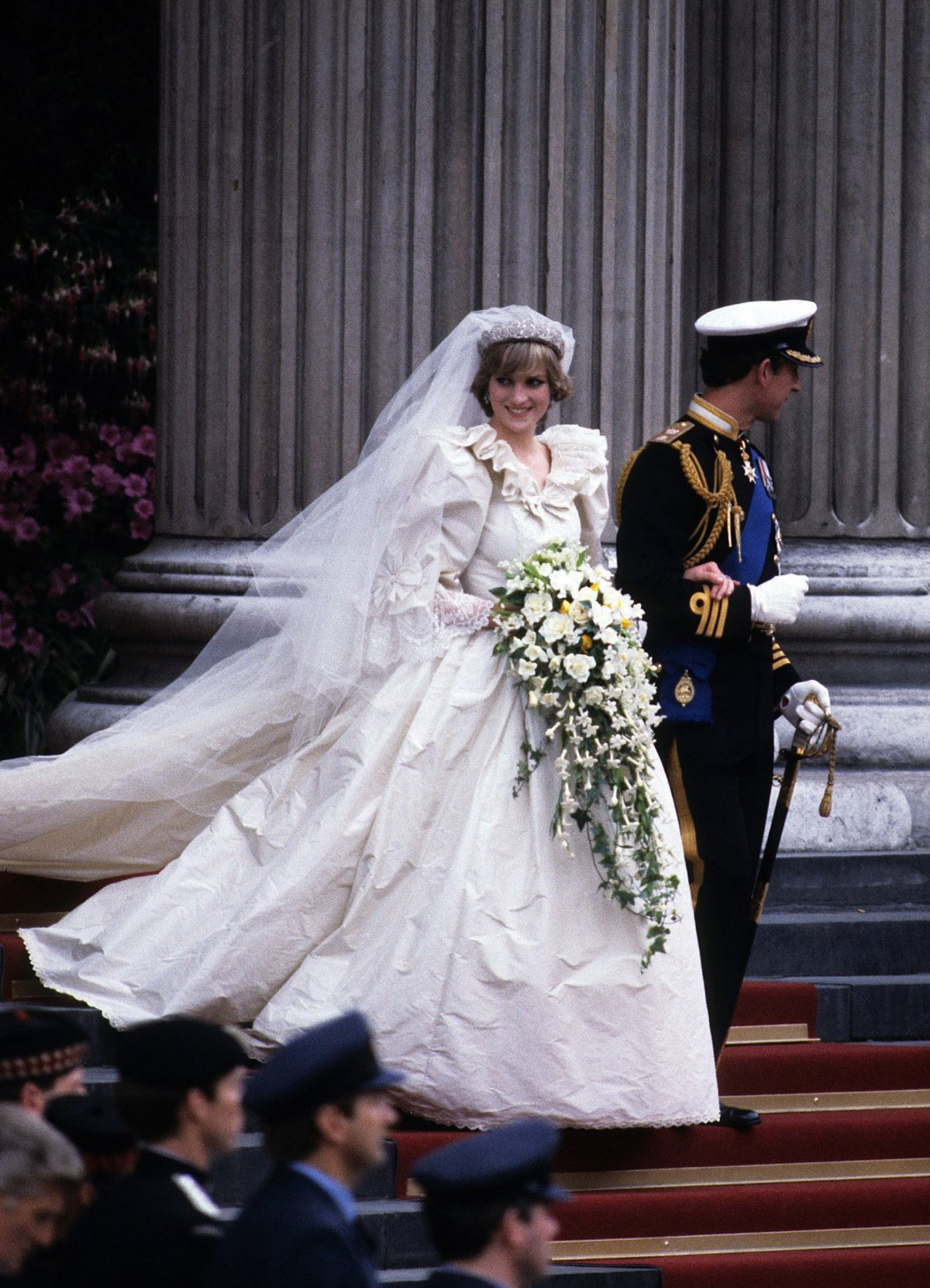 Принц чарльз и диана свадьба фото