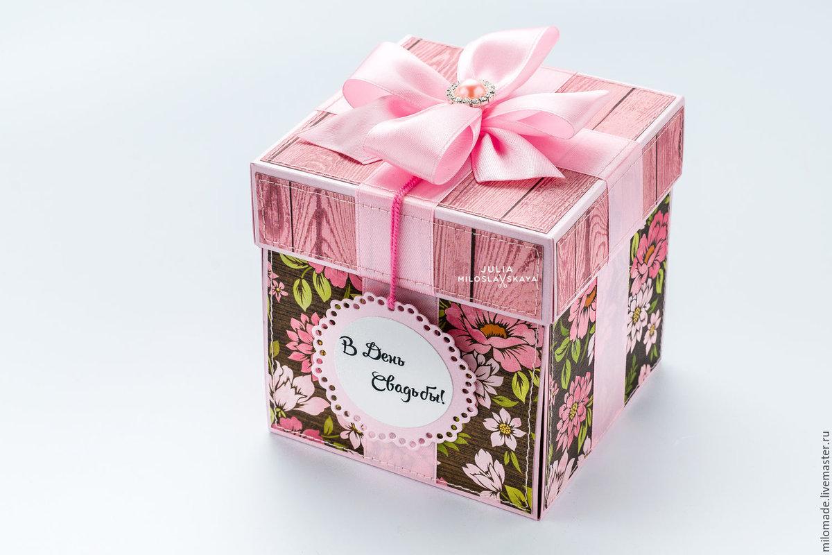 Коробка для подарков молодоженов 89
