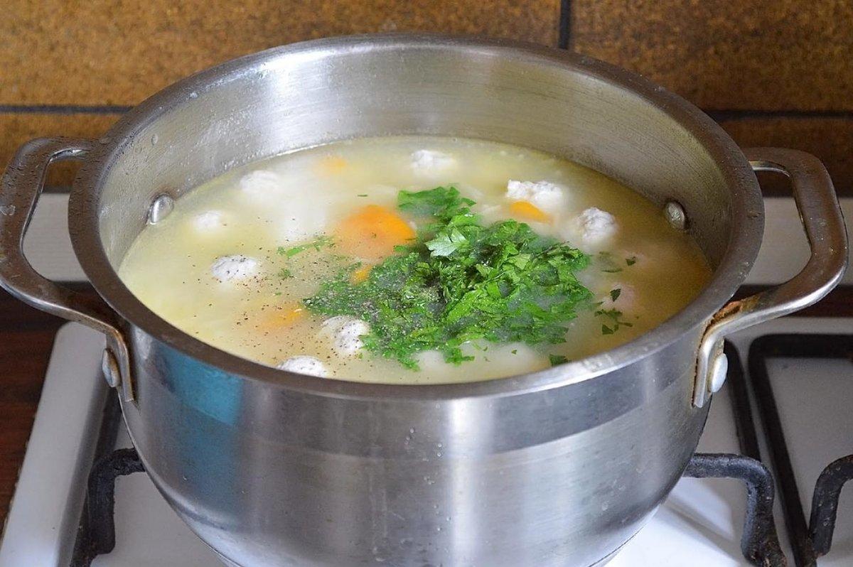 Рисовый суп пошагово с фото