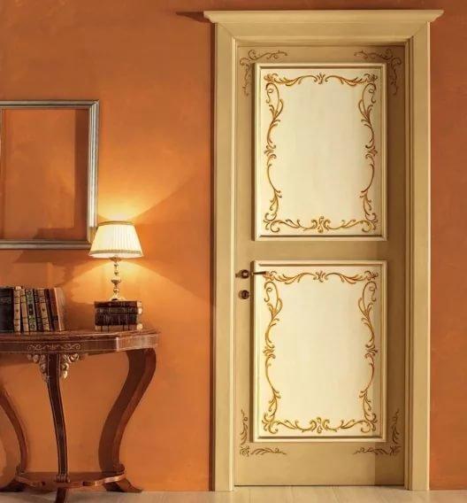 Как сделать декоративную дверь