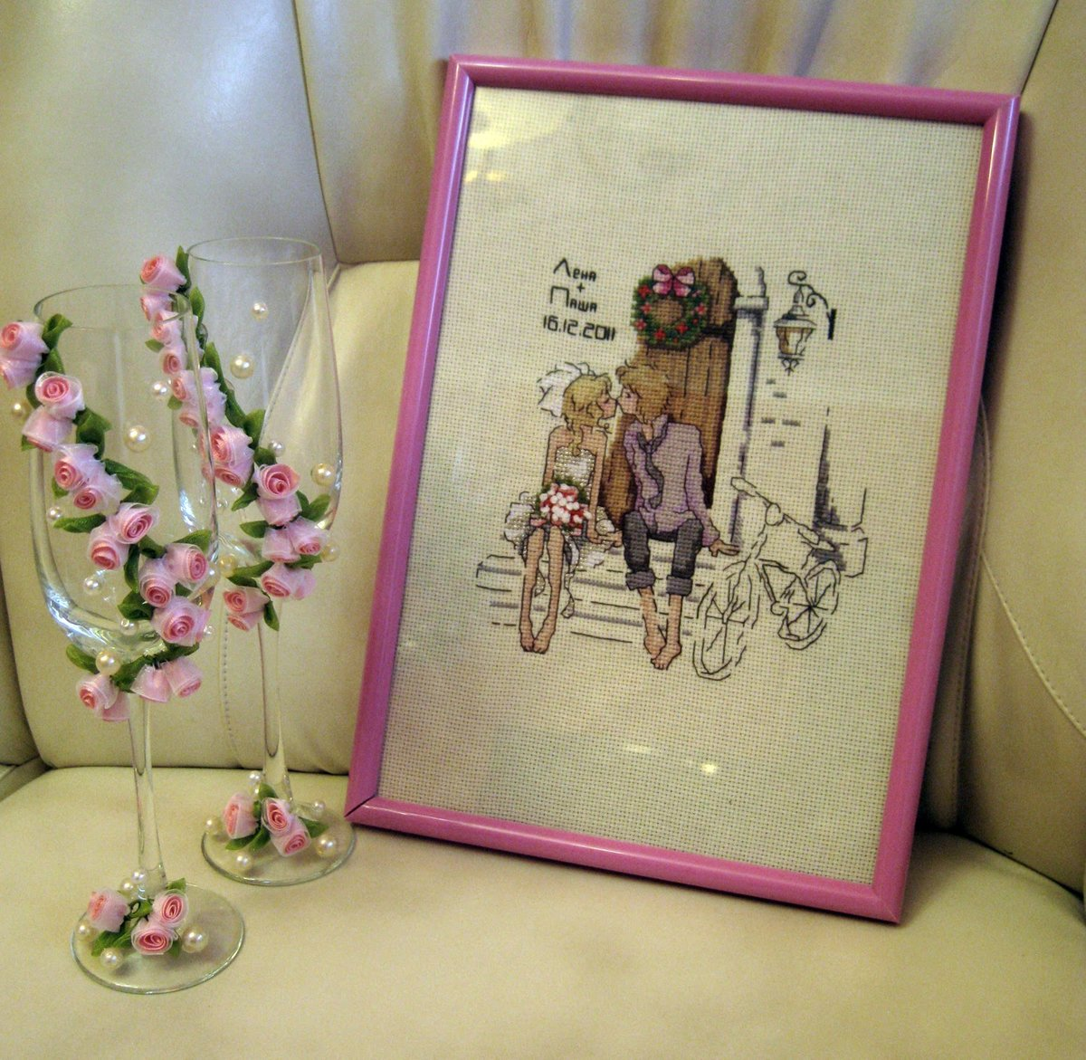 Оригинально подарить подарок на свадьбу креативно