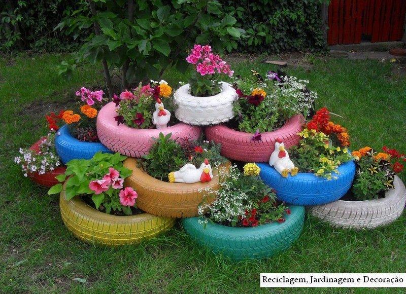 Поделки для цветников 97